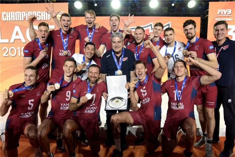 """Факел """"Факел"""" став бронзовим призером клубного чемпіонату світу-2018"""