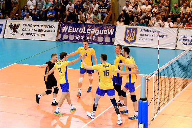 Чоловіча збірна України Стали відомі суперники збірної України у Золотій Євролізі-2019
