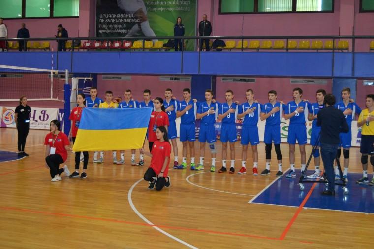 Збірна України U-15 Збірна України U-15 стала бронзовим призером чемпіонату EEVZA