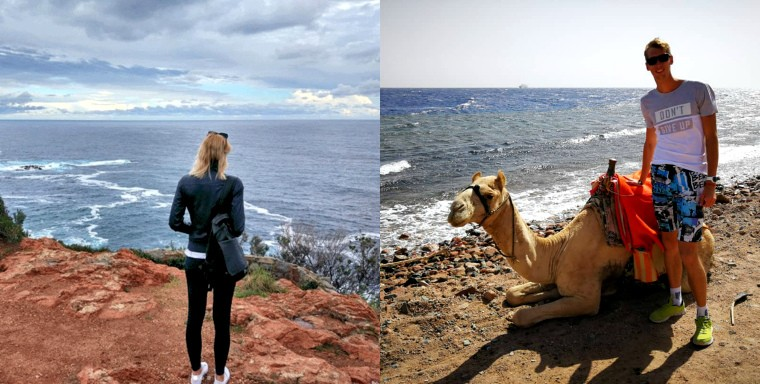 Евгения Щипкова и Ярослав Гордеев Монако, Египет, охота. Как и где отдыхают украинские пляжники