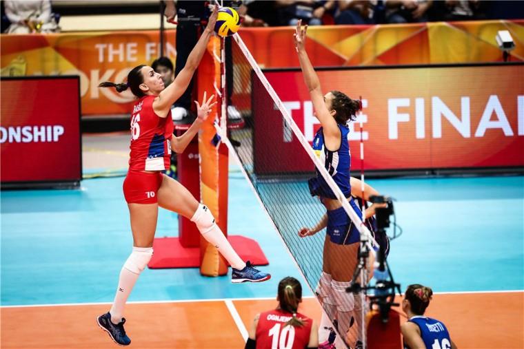 Фінал чемпіонату світу-2018 Сербія - Італія Жіночий чемпіонат світу-2022 відбудеться у Польщі і Нідерландах