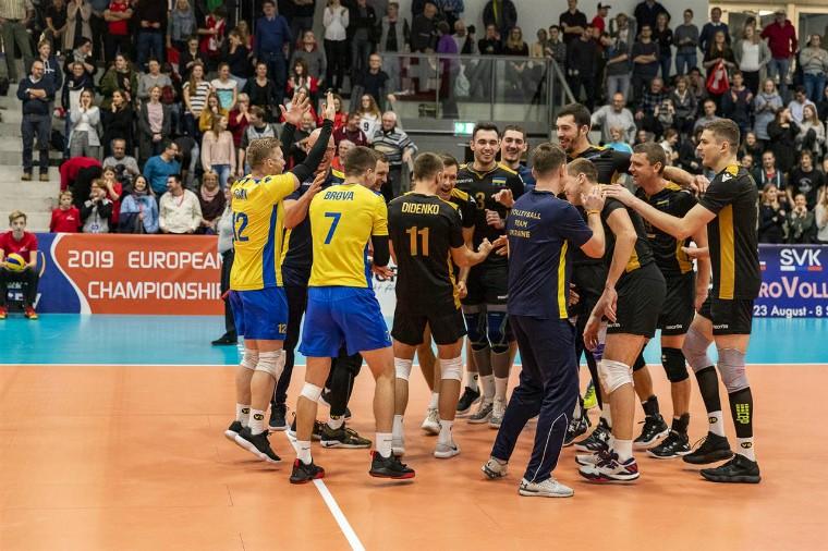 Чоловіча збірна України Визначилися суперники збірної України на чемпіонаті Європи-2019
