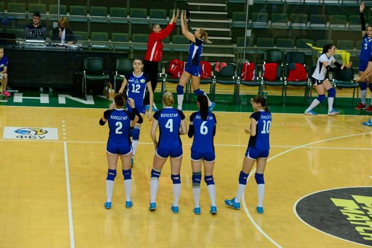 """Білозгар-Медуніверситет Суперліга (жінки). 14-й тур. У """"Фіналі чотирьох"""" - """"Волинь"""" та """"Білозгар"""""""