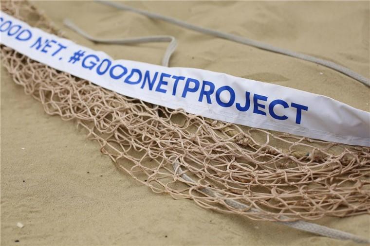 Викинуті рибальські сіті перероблятимуть на волейбольні сітки