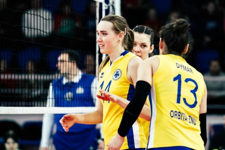 Орбита-ЗНУ-ОДЮСШ Обзор матчей 13-го тура женской Суперлиги Украины 2018\19