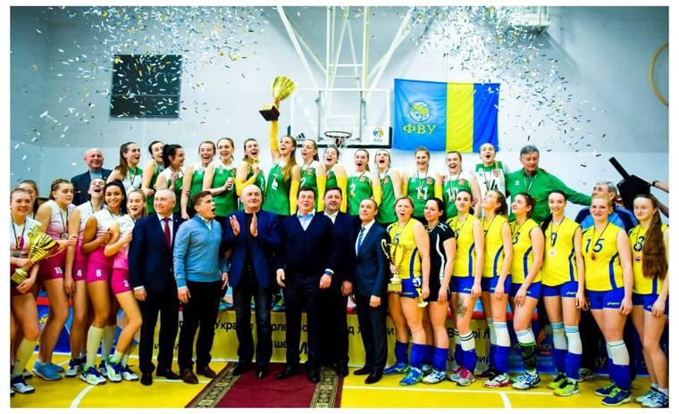 """ВК Полісся ВК """"Полісся"""" – переможець Вищої ліги України 2018\19!"""