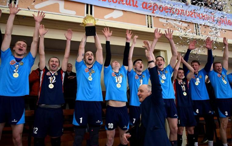 """ВК Житичі ВК """"Житичі"""" – переможець Вищої ліги України 2018\19!"""