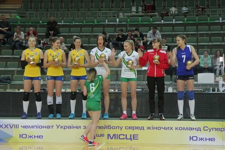 Кращі гравці жіночої Суперліги України 2018\19 Кращі гравці жіночої Суперліги України 2018\19