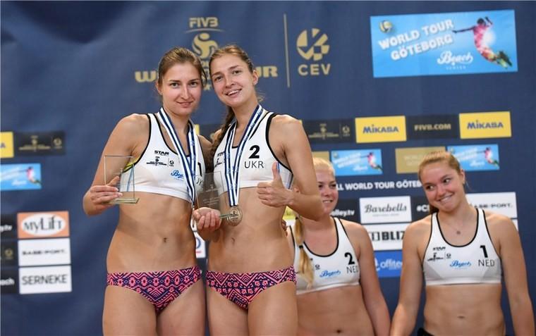 Ірина та Інна Махно Сестри Махно завоювали срібні нагороди на турнірі у Швеції