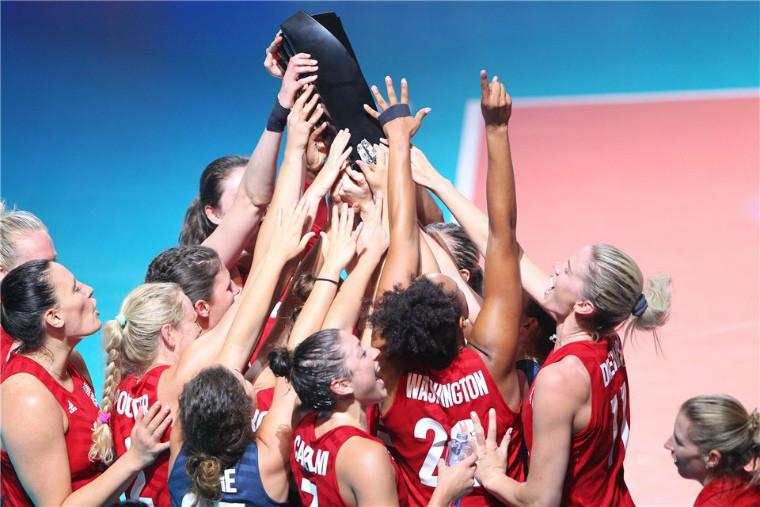 Збірна США Жіноча збірна США вдруге поспіль виграла Лігу націй