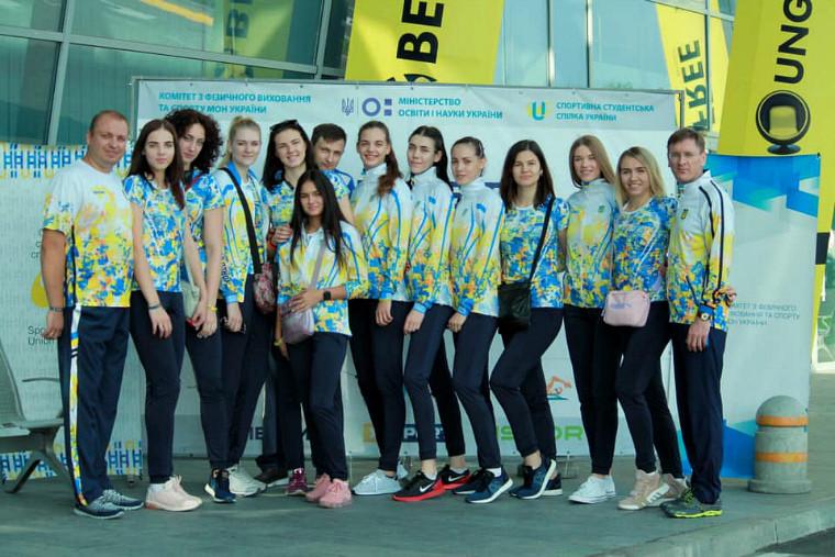 Жіноча збірна України Жіноча збірна України посіла 14 місце на Всесвітній Універсіаді-2019