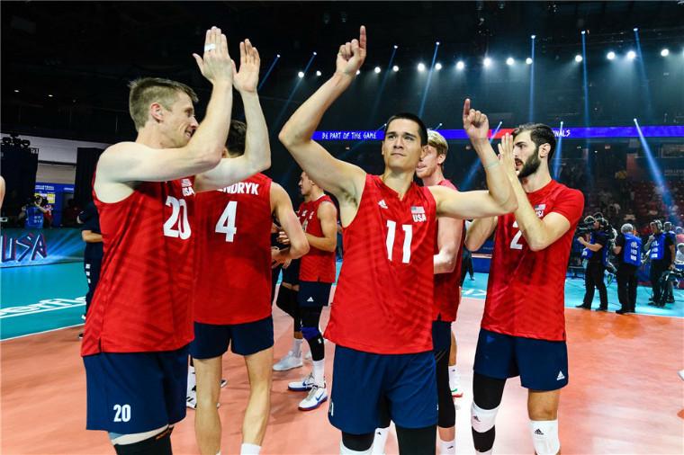 Збірна США Росія і США вийшли в фінал Ліги націй-2019