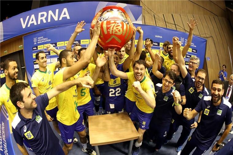 Збірна Бразилії Аргентина, США, Польща, Росія, Бразилія та Італія зіграють на Олімпіаді-2020