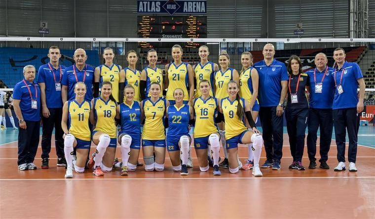 Жіноча збірна України Жіноча збірна України посіла 17-е місце на ЧЄ-2019