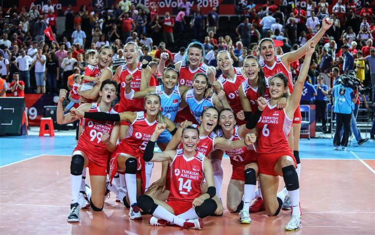 Жіноча збірна Туреччини Визначилися чвертьфіналісти чемпіонату Європи-2019