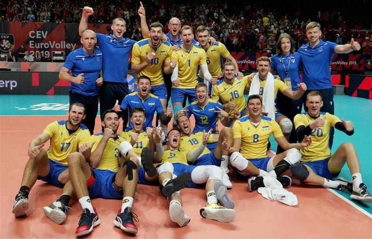 Збірна України Україна – у вісімці найсильніших!
