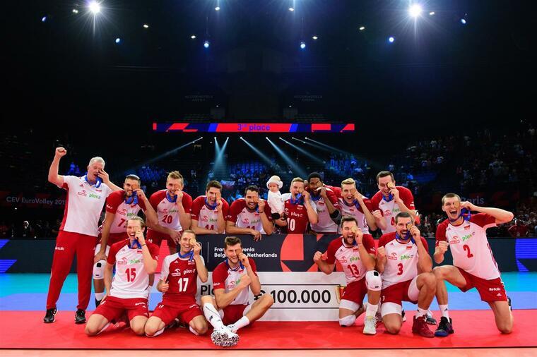 Збірна Польщі Польща стала бронзовим призером чемпіонату Європи