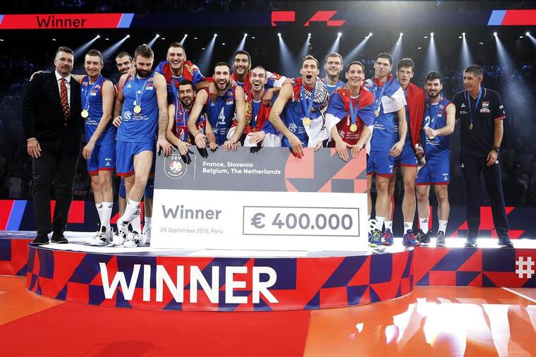 Збірна Сербії Збірна Сербії – чемпіон Європи!