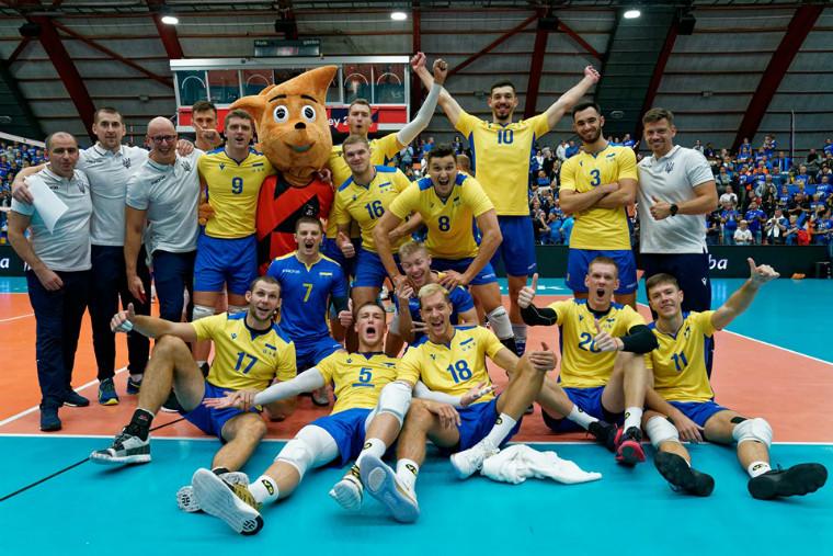 Національна збірна України На кого схожі волейболісти збірної України (Gradient App)