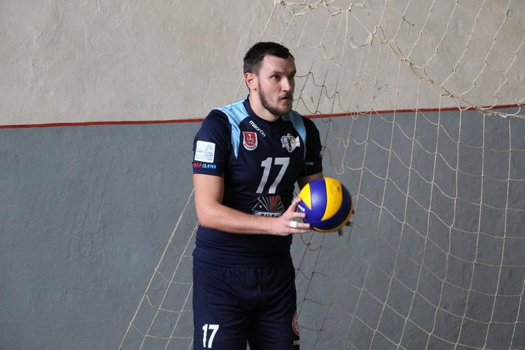 """Андрей Горбенко Андрей ГОРБЕНКО: """"Играть на выезде всегда тяжелее, но будем стараться показать хороший волейбол"""""""