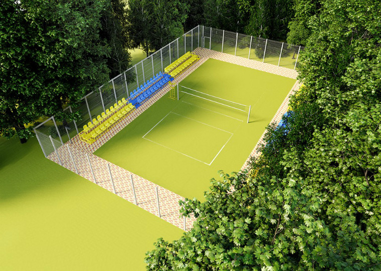 У Вінниці збудують новий волейбольний майданчик