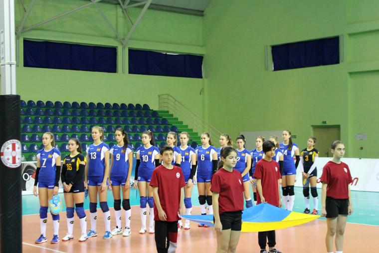 Молодіжна збірна України U-16 Збірна України стала четвертою на чемпіонаті EEVZA