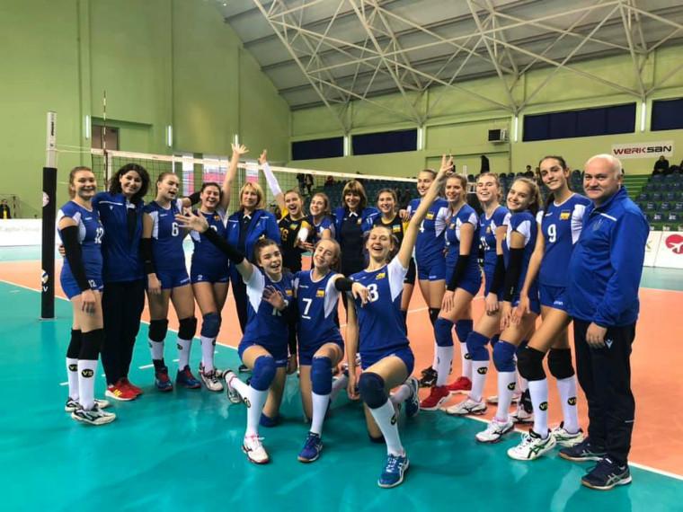 Молодіжна збірна України U-16 Чемпіонат EEVZA (дівчата U-16). Поразка, за яку не соромно