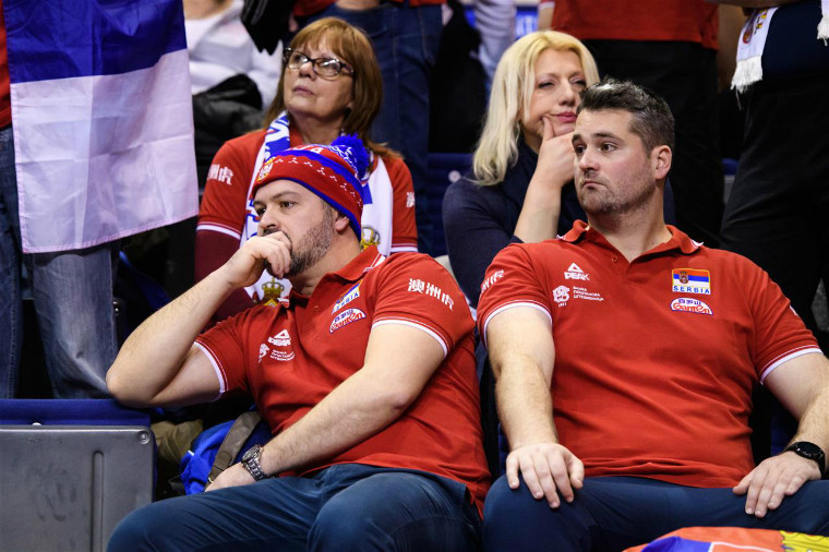 Вболівальники Сербії Чемпион Европы не едет в Токио. Сербы пролетели мимо второй подряд Олимпиады