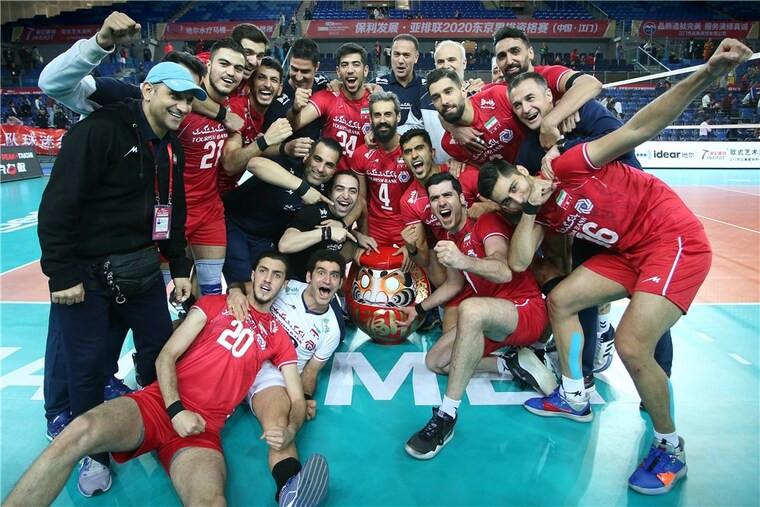 Збірна Ірану Іран вдруге в історії пробився на Олімпіаду