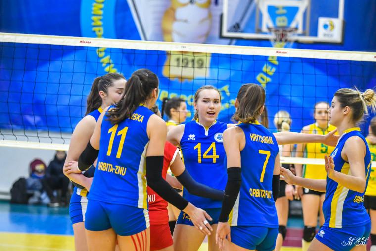 Орбіта-ЗНУ-ЗОДЮСШ Результати матчів 10-го туру жіночої Суперліги України 2019-2020
