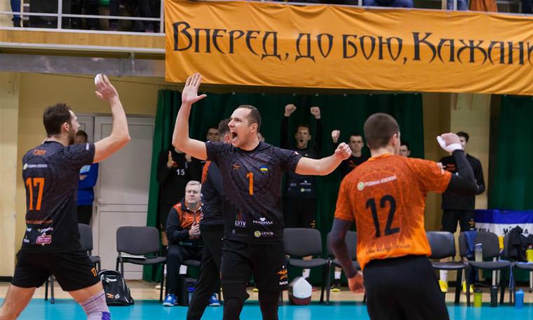 """Барком-Кажани """"Барком"""" поступився у першому матчі 1\8 фіналу Кубка ЄКВ"""