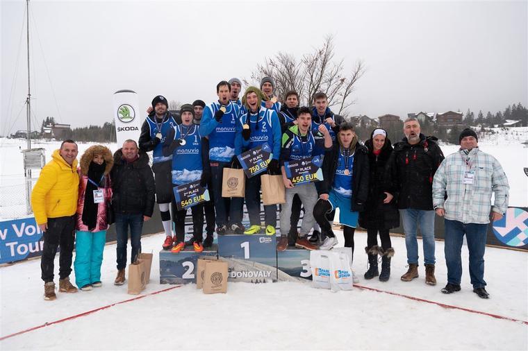 Призери європейського туру з волейболу на снігу Українці стали срібними призерами європейського туру з волейболу на снігу