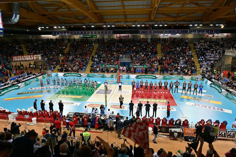 Перуджа - Чивітанова Чемпіонат Італії офіційно завершено через півтора місяці після припинення