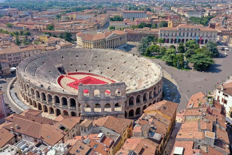 Аrean di Verona Суперкубок Італії відбудеться в античному амфітеатрі