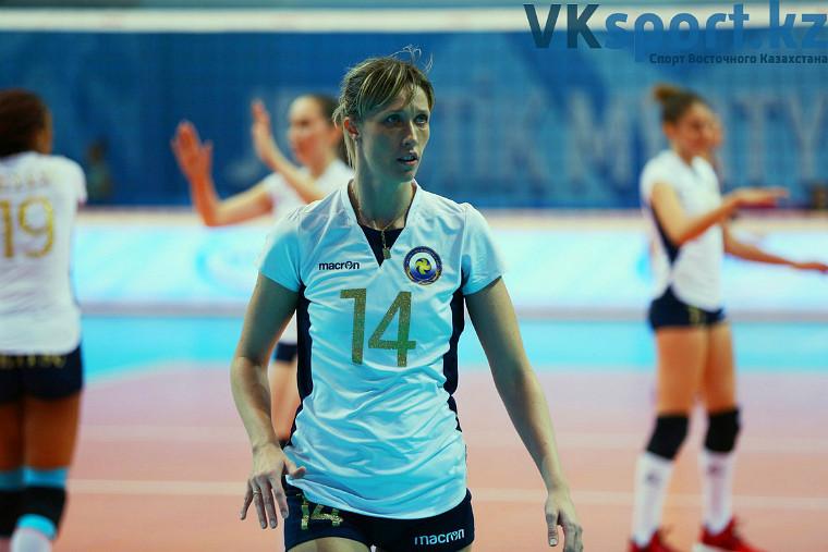 Олеся Сафронова Казахстанську волейболістку дискваліфікували за критику федерації на телекамеру