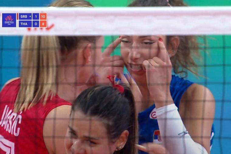 Сербська волейболістка дискваліфікована на два матчі