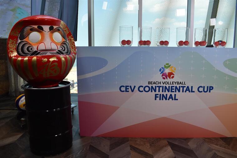 Українські пляжники дізналися суперників по Континентальному кубку