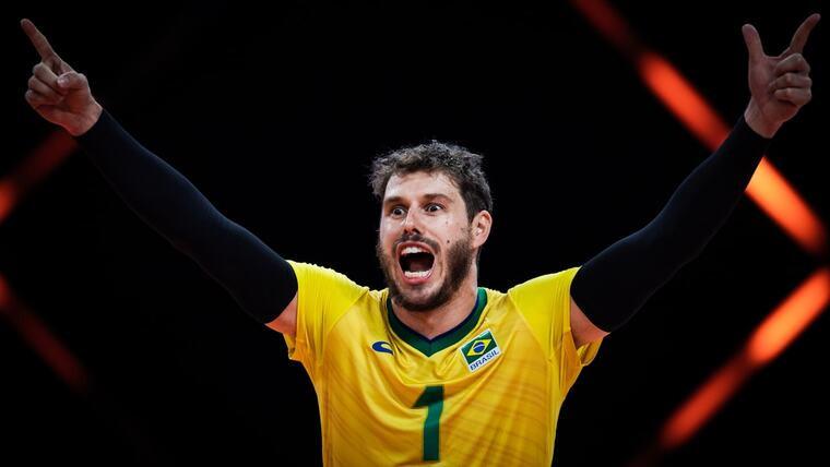 Бруно Резенде Дев'ять волейболістів стануть прапороносцями на відкритті Олімпіади