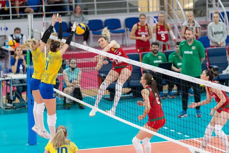 Жіноча збірна України Жіноча збірна України провела спаринги з Болгарією