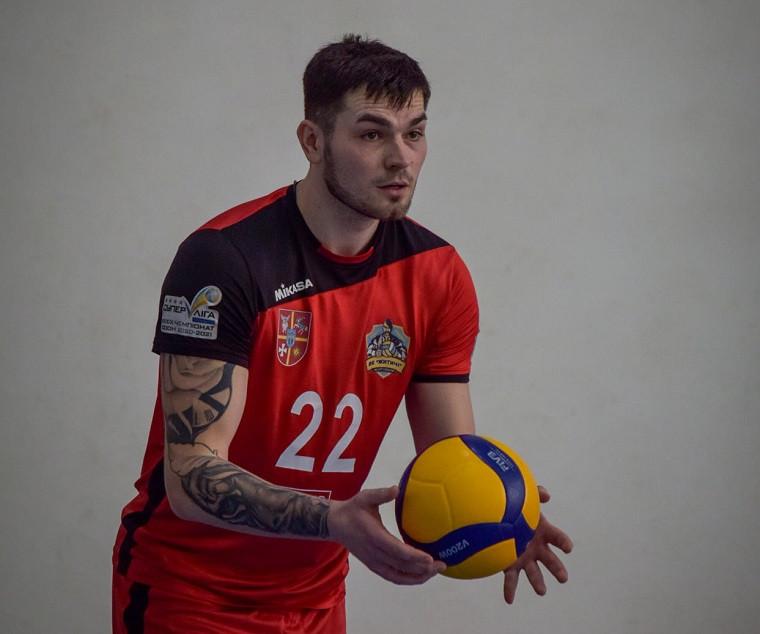 Сергій Руденко Блокуючий Руденко став гравцем болгарської команди
