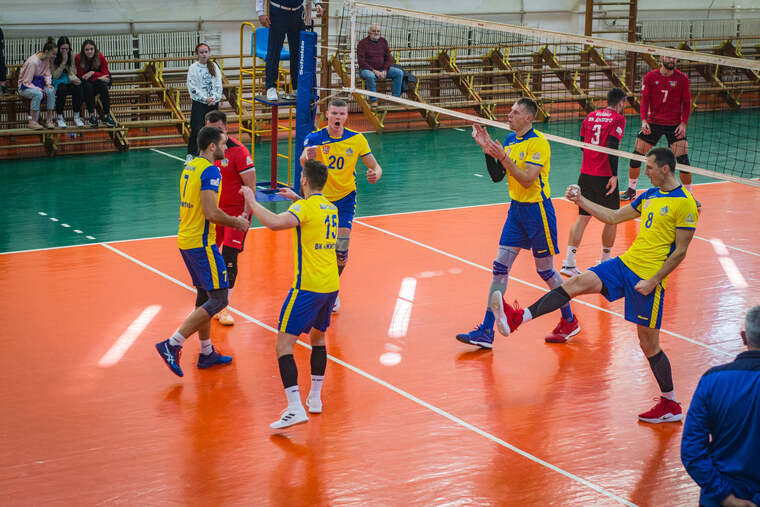 ВК Житичі Результати матчів 1-го туру чоловічої Суперліги України 2021-2022
