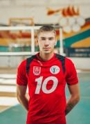 Остроумов  Анастасiй гравець команди ВК Серце Поділля Вінниця, Україна