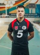 Патратій  Вадим гравець команди ВК Серце Поділля Вінниця, Україна