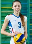 Собчук  Ірина гравець команди Волинь-Унiверситет-ОДЮСШ Луцьк, Україна