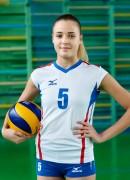 Афанасієва  Анна гравець команди Волинь-Унiверситет-ОДЮСШ Луцьк, Україна
