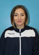 Терещук  Олександра тренер команди Новатор Хмельницький, Україна