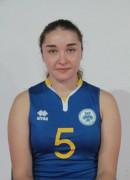 Луханіна  Наталія гравець команди Орбіта-ЗНУ-ОДЮСШ Запоріжжя, Україна
