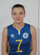 Грицуняк  Олена гравець команди Орбіта-ЗНУ-ОДЮСШ Запоріжжя, Україна