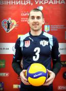 Слинчук  Iван гравець команди ВК Серце Поділля Вінниця, Україна