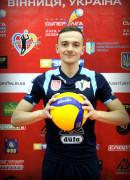 Поліщук  Ілля гравець команди ВК Серце Поділля Вінниця, Україна